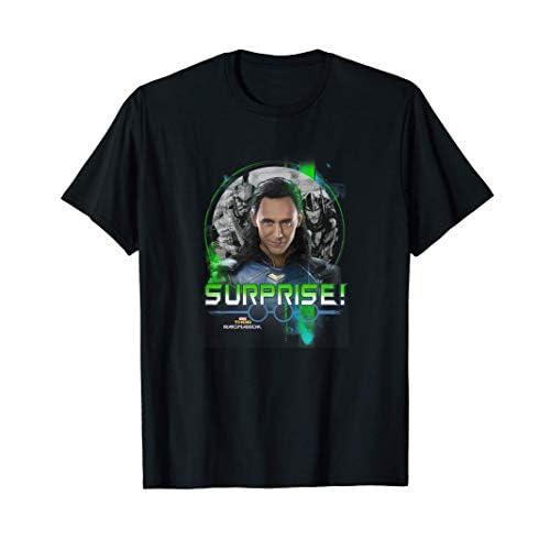 Thor: Ragnarok Group Shot Surprise! Loki Returns Maglietta