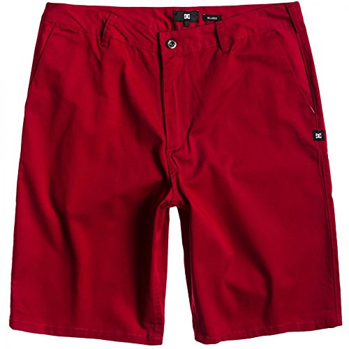 DC Shoes DC Worker EU M WKST RRD0 Short Homme, Rouge (Deep Red), FR: 48 (Taille Fabricant: 30)