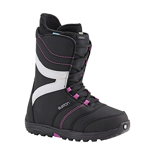 Burton Damen Snowboardboot Coco, Black/Purple, 6, 10644102026