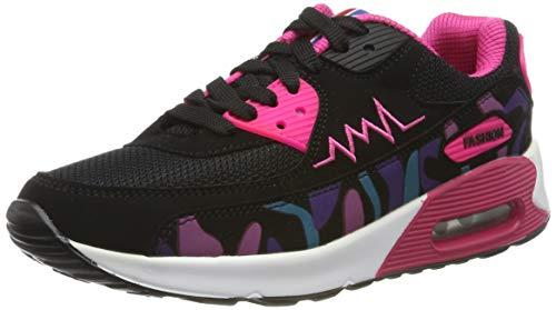 Padgene Zapatillas de Deporte Running para Mujer Zapatos de Amortiguación de Aire Deportes Zapatos para Correr y Viaje