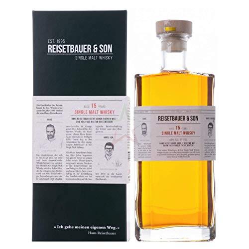 Reisetbauer & Son 15 Years Old Single Malt Whisky in Geschenkbox 48,00% 0,70 lt.
