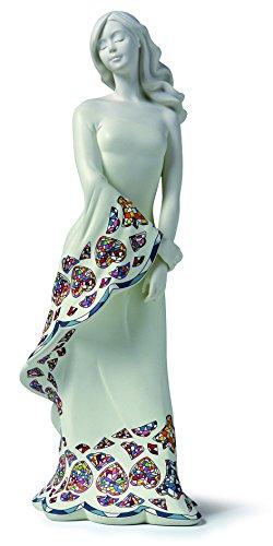 Nadal Mediana Figura Decorativa Espera, Resina, Multicolor, 10.50x13.00x35.00 cm