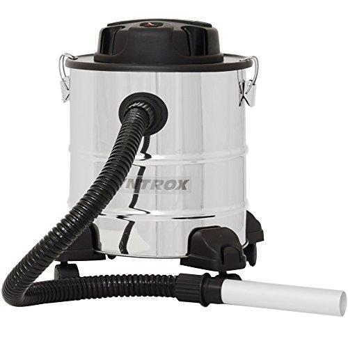 Syntrox Germany Edelstahl bis 20 Liter Aschesauger mit Motor Feinstaubsauger AC-1000-R Vesuv