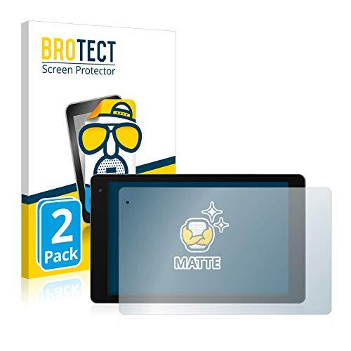BROTECT 2X Entspiegelungs-Schutzfolie kompatibel mit Medion Lifetab P10612 Bildschirmschutz-Folie Matt, Anti-Reflex, Anti-Fingerprint