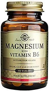 Solgar Magnesium + Vitamin B6 - 100 tabls.