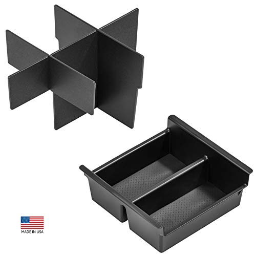 Vehicle OCD - Center Console Divider and Tray Organizer for Toyota 4Runner (2010-2020) - Made in USA