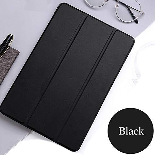 Tablet flip case voor Samsung Galaxy Tab S2 9.7 cover Smart Sleep wake funda Stand capa solide kaart voor SM-T810 / T815 / T813 / T819 N Donker nacht zwart