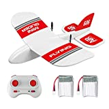 GoolRC RC Plane, KF606 2.4Ghz Remote Control Airplane, EPP Foam Fixed Wing Plane, RTF Ready to Fly Gliding Aircraft Model Toys with 2 Battery for Beginner