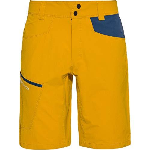ORTOVOX Herren Pelmo Shorts M Kurze Hose, Yellowstone, L