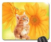 オレンジタビーマウスパッド、マウスパッド(Cats Mouse Pad)