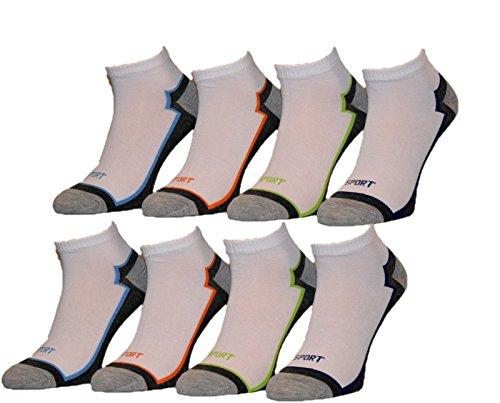 Pesail 10 Paar Herren Sneaker Socken Größe 39-46 (39-42)