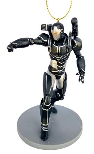 War Machine Superhero from Movie Endgame Figurine Holiday Christmas Tree Ornament - Limited Availability - New for 2019
