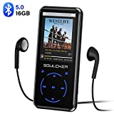 MP3 Player, 16GB MP3 Player with Bluetooth 4.0, Portable HiFi Lossless Sound MP3 Music Player with FM Radio...