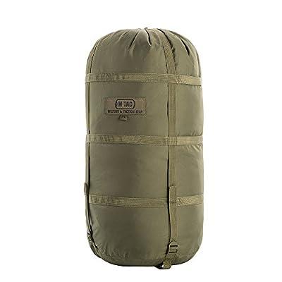 M-Tac Nylon Sleeping Bag Compression Sack - Stuff Bag - for Camping Hiking Backpacking XL (Olive)