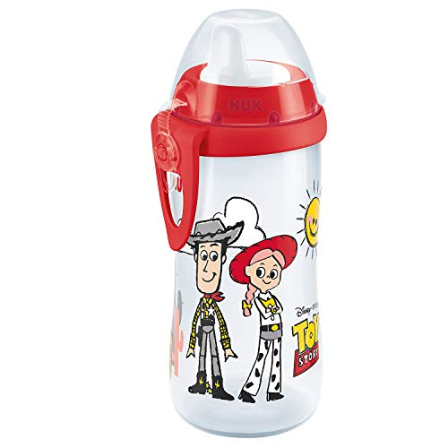NUK Disney Pixar Toy Story Kiddy Cup Bottle, 12+ Monate, 300 ml, Woody & Jessie