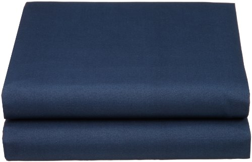 Luxury Queen fitted sheet brushed microfiber, Navy Blue