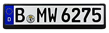 Z Plates Compatible with BMW European German License Plate with Frame