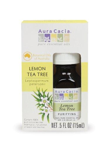 Aura Cacia Pure Lemon Tea Tree Essential Oil