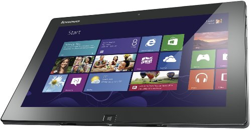 Lenovo IdeaTab K3011 29,5 cm (11,6 Zoll) Tablet-PC (Intel Atom Z2760, 1,8GHz, 2GB RAM, 64GB HDD, Touchscreen, Win 8) grau