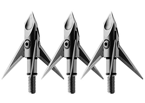 """Ramcat Hydroshock Pivoting Broadheads 