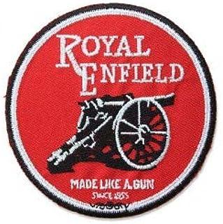 PATCHMANIA Royal Enfield Logo 7,6 CM Parche, Parches Termoadhesivos,Parche Bordado para la Ropa Termoadhesivo: Amazon.es: Hogar