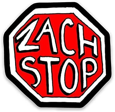 Manufacturer OFFicial shop Zach Stop Direct stock discount Vinyl Sticker Decorative Bottle Stickers Phone Water