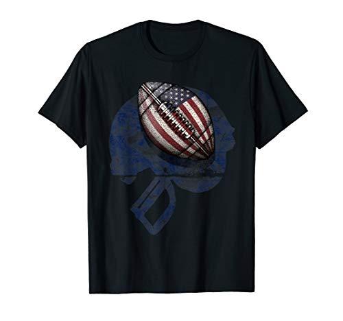 American Football Sport Ball Geschenk T-Shirt