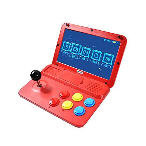 GoolRC A13 Consola de Videojuegos Reproductor de Juegos Portátil Arcade Juegos 3000 Incorporados Pantalla de 10 Pulgadas Reproductor de Video Musical Soporte de Salida HD Conexión de Gamepad con Cable