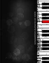 Songwriter's Blank Music Book (Blank Music Book Series) (Volume 2)