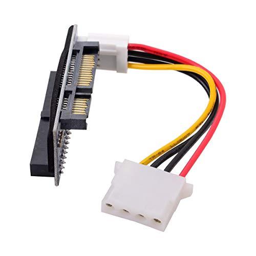 Cablecc IDE/PATA 40 pines disco a SATA hembra convertidor adaptador PCBA para escritorio y disco duro de 3,5 pulgadas