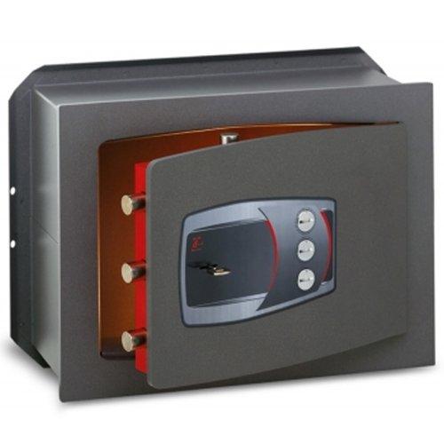 Cassaforte A Muro A Chiave + Combinazione Serie Technofort Technomax - 210X340X150Mm