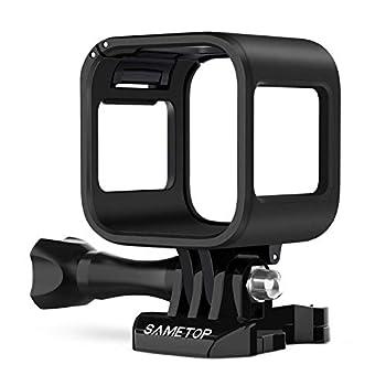 Sametop Frame Mount Housing Case Compatible with GoPro Hero 5 Session Hero 4 Session Hero Session Cameras