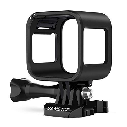 Sametop Frame Mount Housing Case Compatible with GoPro Hero 5 Session, Hero 4 Session, Hero Session Cameras