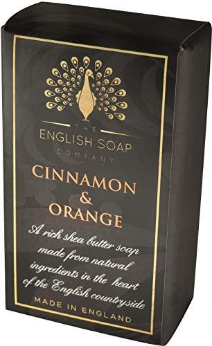 The English Soap Company, Pure Indulgence Cinnamon & Orange, Shea Butter Soap, 200g