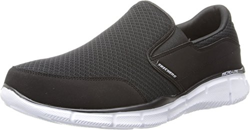 Skechers Skechers Herren ULTRA FLEX-SALUTATIONS-51361 Low-Top, Schwarz (BKW), 41 EU