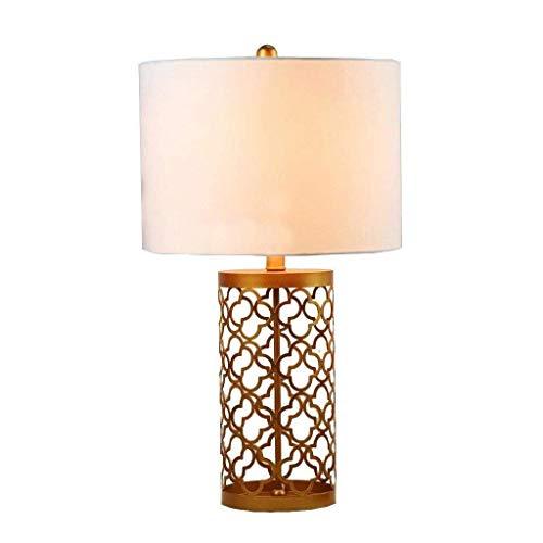 HYY-YY Lámparas de mesa, simple hierro americano, estilo vintage, creativo, para hotel, lámpara de salón, dormitorio, lámpara de noche, lámpara de lectura
