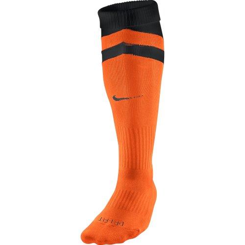 NIKE Vapor II–Calcetines, Color Naranja/Negro, tamaño Medium