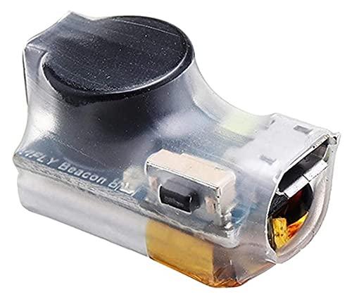 GzxLaY Alta qualità 25x14x15mm 6 Grammi VIFLY Beacon 80mah Giroscopio autoalimentato LED 105dB Cicalino Wireless per DJI Qualsiasi Drone Aereo FPV Quadricotteri da Corsa Parti Accessori