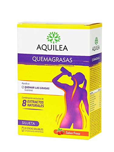 AQUILEA Quemagrasas 15 sticks solubles