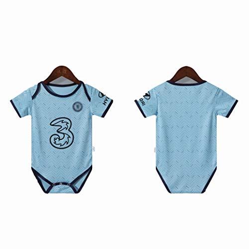 SUNY Fußball Trikot Baby Body Bosnien Bosnia 2020-2021 Home/Away Fußball Strampler Babybekleidung Aus Bio-Baumwolle,2,9M