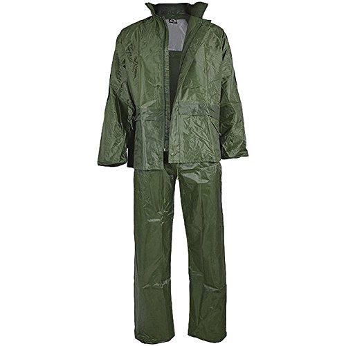Miltec Regenanzug, komplett, für Erwachsene, Unisex, Olivgrün, GrößeXL