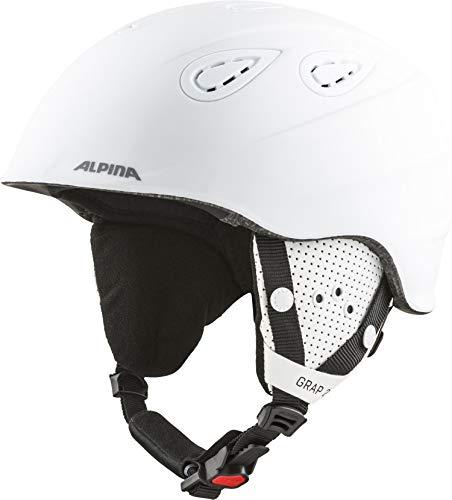 ALPINA GRAP 2.0 Skihelm, Unisex– Erwachsene, white matt 2017, 57-61