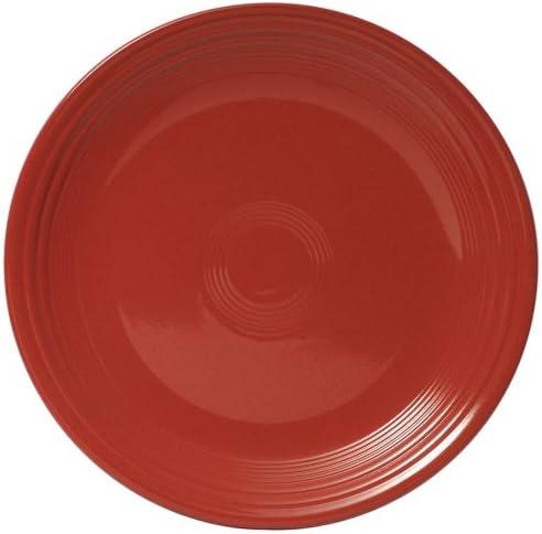 Scarlet Fiesta 13-Inch Round Charger