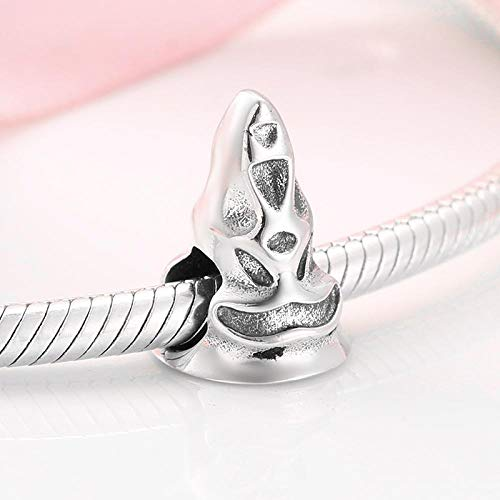 jiao Hochwertige Weihnachtsmütze aus 925er Sterlingsilber Charms Beads Fit Original Charm Bracelet Schmuckherstellung