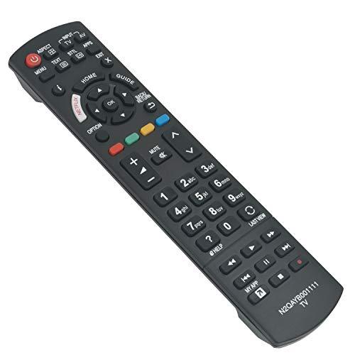 VINABTY N2QAYB001111 Mando a distancia de repuesto por Panasonic LEDTV TX-49EX633E TX-49EXW584 TX-55EXW584 TX-40EX600E...