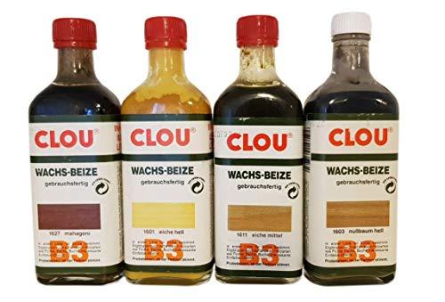 2 x 250 ml Clou B3 Cera Color a elegir 0,5 l)