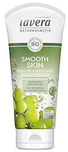 Lavera Duschgel Smooth Skin Duschgel Peeling Zutaten Bio 100 % natürlich - 200 ml