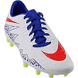 Nike Womens Hypervenom Phelon 2 Firm Ground Soccer Cleats - White - Size 10 B