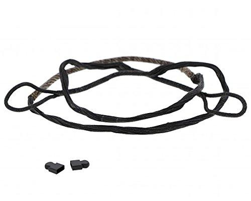ETU24® Sehne Ersatzsehne 80 lbs 150 lbs 175 lbs für Armbrust mit Endkappen Armbrustsehne Direktversand aus Deutschland (150 lbs)