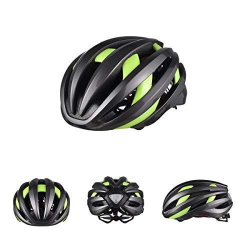 CARACHOME Casco de Bicicleta Bluetooth de Seguridad Inteligente con señales de Giro...